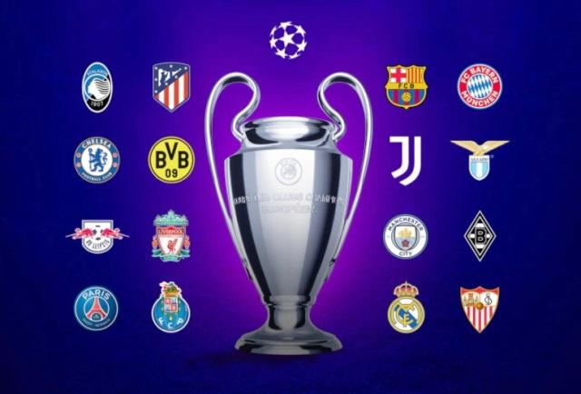 Jadwal 16 besar Liga Champions 20/21