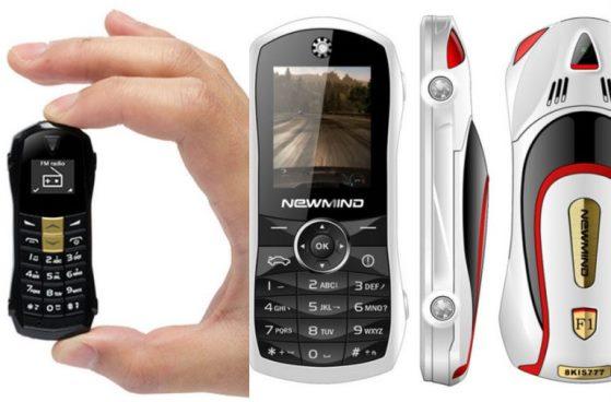 Ponsel terkecil di dunia Newmind F1